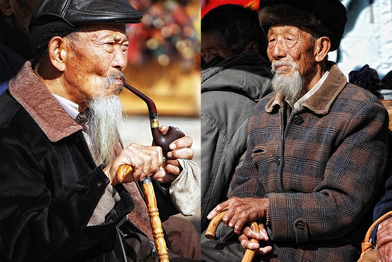 lijiang-old-men